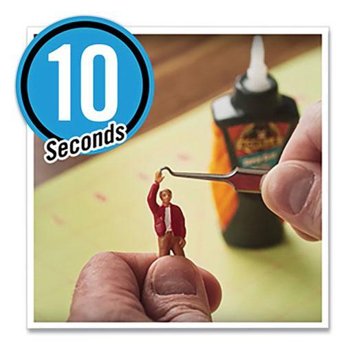 Super Glue Micro Precise, 0.19 oz, Dries Clear, 4/Carton. Picture 3