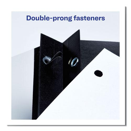 """Durable Clear Front Report Cover w/Prong Fasteners, 1/8"""" Cap, Clear/Blue, 25/Box. Picture 8"""