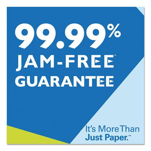 Premium Laser Print Paper, 98 Bright, 24lb, 8.5 x 11, White, 500/Ream. Picture 4
