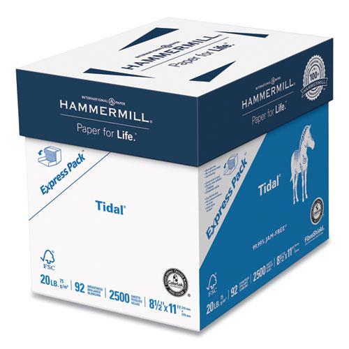 Tidal Print Paper Express Pack, 92 Bright, 20lb, 8.5 x 11, White, 2,500 Sheets/Carton. Picture 1