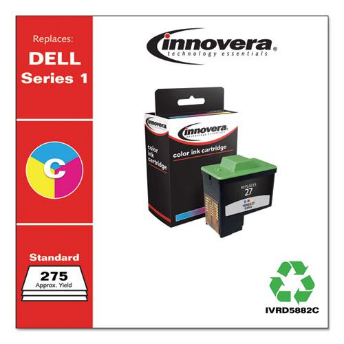 Remanufactured Tri-Color High-Yield Ink, Replacement for Dell Series 1 (T0530), 275 Page-Yield. Picture 2