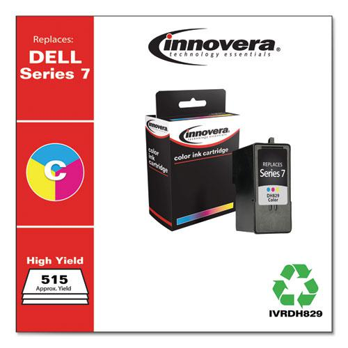 Remanufactured Tri-Color High-Yield Ink, Replacement for Dell Series 7 (CH884), 515 Page-Yield. Picture 2