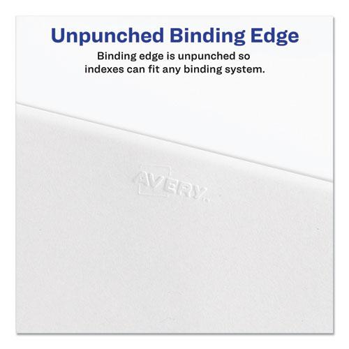 Preprinted Legal Exhibit Side Tab Index Dividers, Avery Style, 25-Tab, 26 to 50, 11 x 8.5, White, 1 Set, (1331). Picture 3