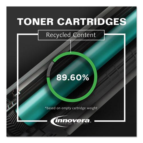 Remanufactured Black High-Yield MICR Toner, Replacement for HP 80XM (CF280XM), 6,900 Page-Yield. Picture 3