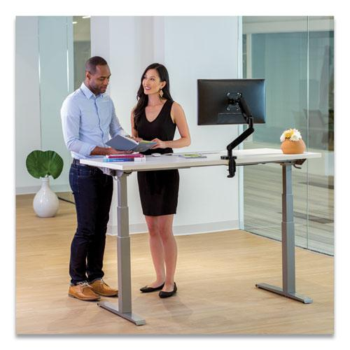Levado Laminate Table Top (Top Only), 60w x 30d, White. Picture 3