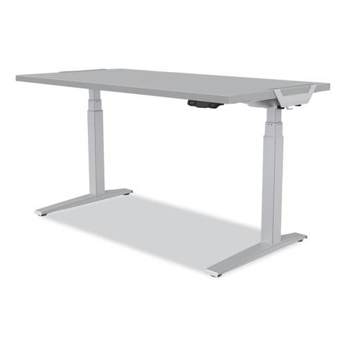 Levado Laminate Table Top (Top Only), 60w x 30d, Gray. Picture 1