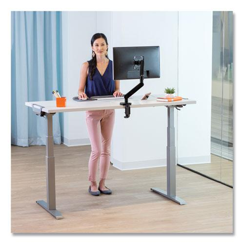 Levado Laminate Table Top (Top Only), 60w x 30d, Gray. Picture 6