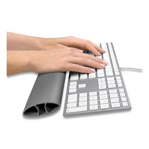 """I-Spire Keyboard Wrist Rocker Wrist Rest, 17.87"""" x 2.5"""", Gray. Picture 4"""