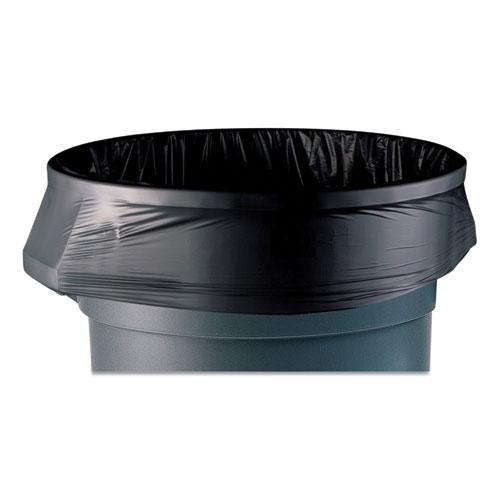 """AccuFit Linear Low-Density Can Liners, 44 gal, 1.3 mil, 37"""" x 50"""", Black, 100/Carton. Picture 1"""
