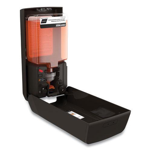 J-Series Automatic Hand Soap Dispenser, 1,200 mL, 6.02 x 4 x 11.98, Black. Picture 2