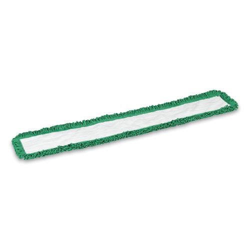 Looped-End Dust Mop Head, Microfiber, 48 x 5, Green. Picture 2