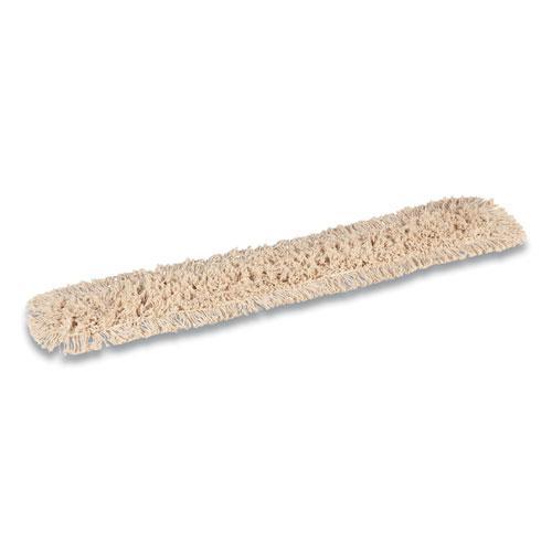 Cut-End Dust Mop Head, Cotton, 48 x 5, White. Picture 2