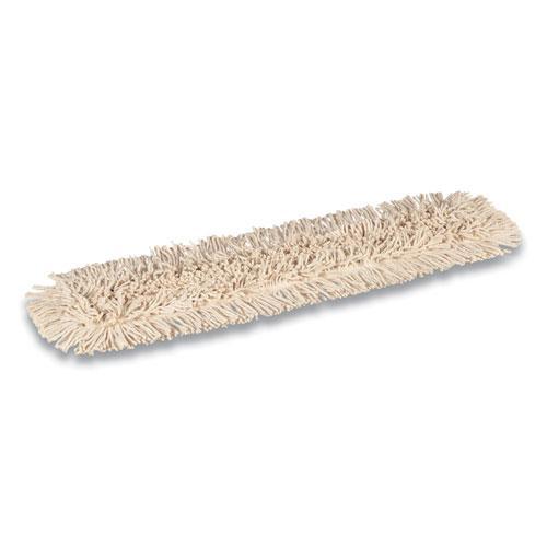 Cut-End Dust Mop Head, Economy, Cotton, 36 x 5, White. Picture 2