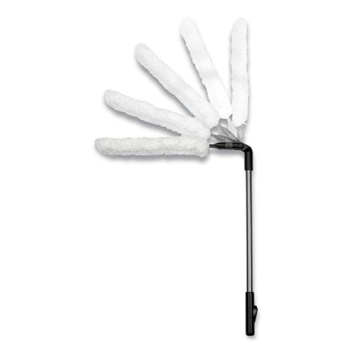 """Good Grips Microfiber Extendable Duster, Aluminum Handle Extends to 27"""" to 54"""". Picture 2"""