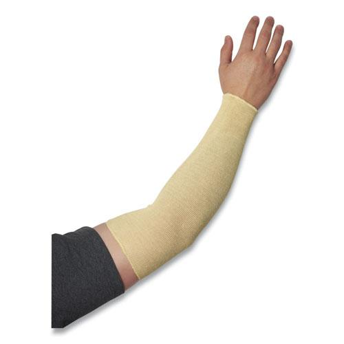 """Knitted Kevlar Sleeve, 2-Ply, 18"""" Length, Tan. Picture 1"""