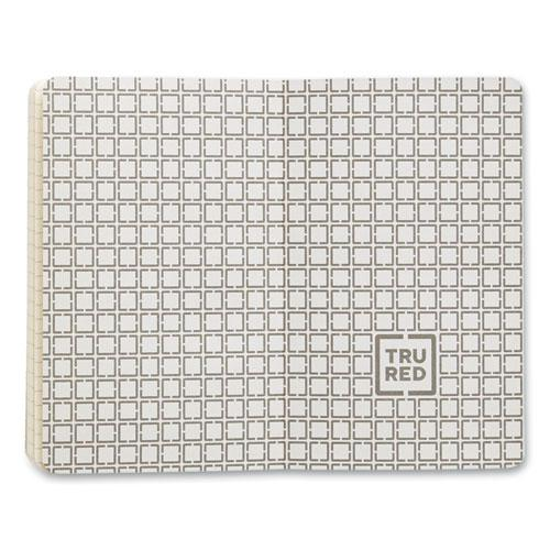 Flexible-Cover Business Journal, Quadrille Rule, Gray Cover, 3.5 x 5.5, 96 Sheets. Picture 3
