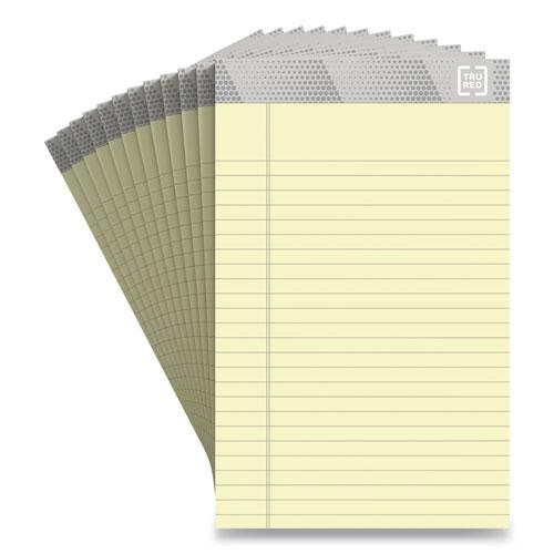 Notepads, Narrow Rule, Canary Sheets, 5 x 8, 50 Sheets, 12/Pack. Picture 1