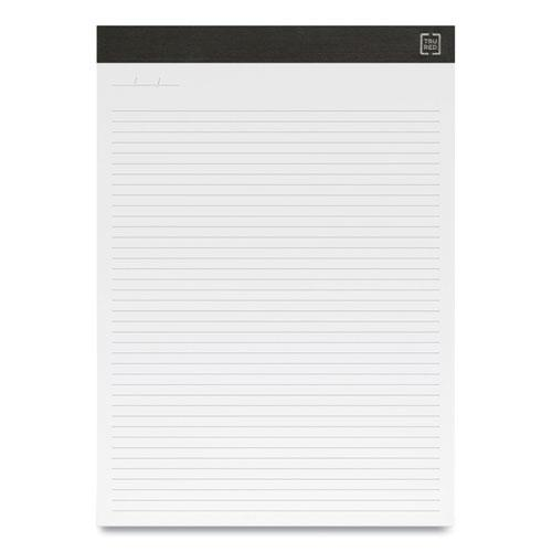 Notepads, Narrow Rule, White Sheets, 8.5 x 11.75, 50 Sheets, 12/Pack. Picture 2
