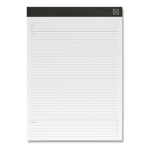 Notepads, Meeting Agenda Format Ruled, White Sheets, 8.5 x 11.75, 50 Sheets, 6/Pack. Picture 2