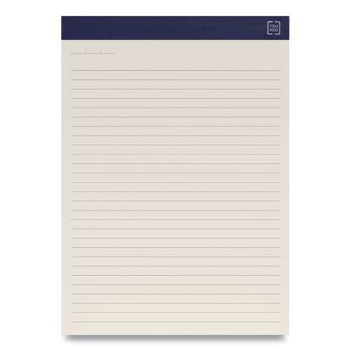 Notepads, Wide/Legal Rule, Ivory Sheets, 8.5 x 11.75, 50 Sheets, 12/Pack. Picture 2