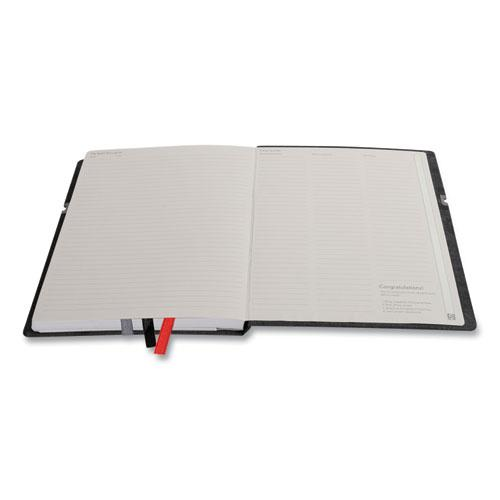 Large Mastery with Pocket Journal, Narrow Rule, Black/Red Cover, 8 x 10, 192 Sheets. Picture 2