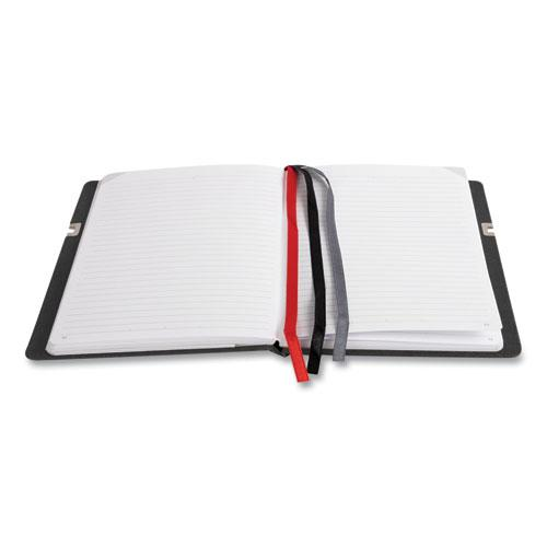 Large Mastery with Pocket Journal, Narrow Rule, Black/Red Cover, 8 x 10, 192 Sheets. Picture 3