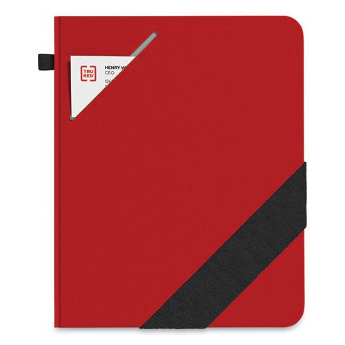 Large Starter Journal, Narrow Rule, Red Cover, 8 x 10, 192 Sheets. Picture 1