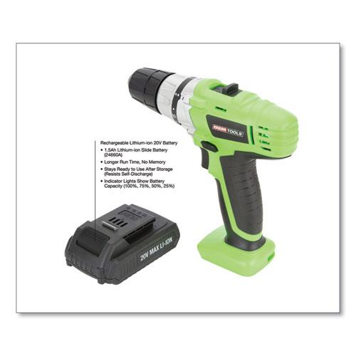 20V Max.Li-ion 3/8 Inch Drive Cordless Drill. Picture 3