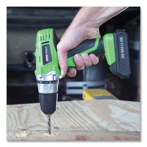 20V Max.Li-ion 3/8 Inch Drive Cordless Drill. Picture 7