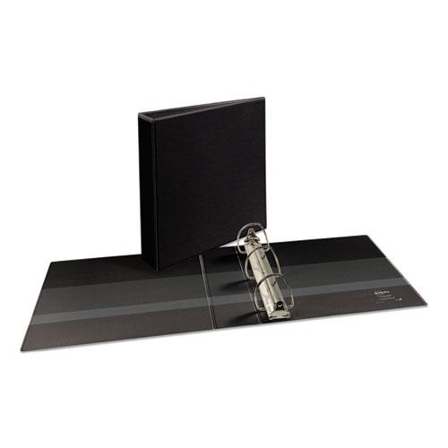 "Durable View Binder with DuraHinge and EZD Rings, 3 Rings, 2"" Capacity, 11 x 8.5, Black, (9500). Picture 1"
