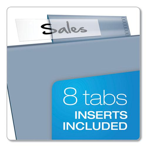 Poly Index Dividers, 8-Tab, 11 x 8.5, Assorted, 4 Sets. Picture 6