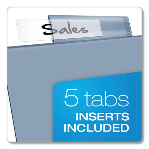 Poly Index Dividers, 5-Tab, 11 x 8.5, Assorted, 4 Sets. Picture 2