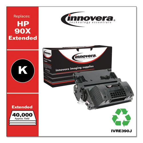 Remanufactured Black Extended-Yield Toner, Replacement for HP 90X (CE390XJ), 40,000 Page-Yield. Picture 2