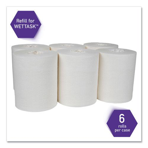 Wipers for the WETTASK System, Quat Disinfectants and Sanitizers, 6 x 12, 840/Roll, 6 Rolls and 1 Bucket/Carton. Picture 5