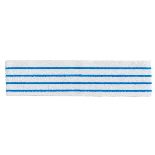 HYGEN Disposable Microfiber Cleaning Cloths, White/Blue Stripes, 18 x 4.75, 150/Pack. Picture 1