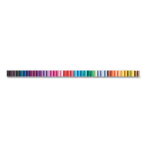 EMOTT ever fine Porous Point Pens, Fine 0.4 mm, Assorted Ink, White Barrel, 40/Pack. Picture 2