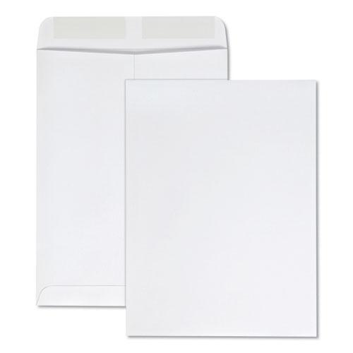 Catalog Envelope, #10 1/2, Square Flap, Gummed Closure, 9 x 12, White, 100/Box. Picture 1