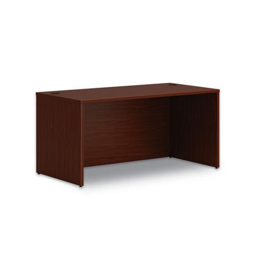 """Mod Desk Shell, 60"""" x 30"""" x 29"""", Traditional Mahogany. Picture 1"""