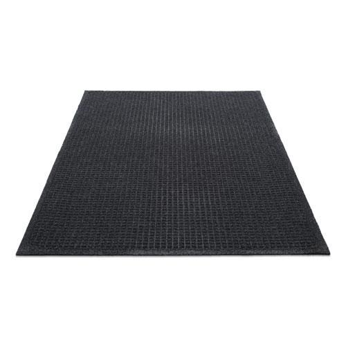 EcoGuard Indoor/Outdoor Wiper Mat, Rubber, 36 x 60, Charcoal. Picture 1