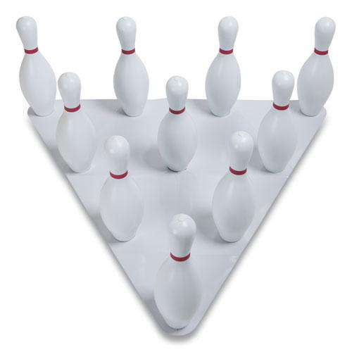 Bowling Set, Plastic/Rubber, White, 1 Ball/10 Pins/Set. Picture 9