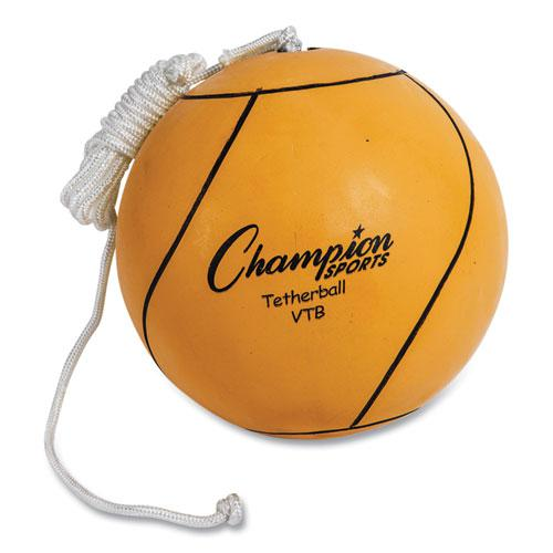 Tether Ball, Playground Size, Optic Yellow. Picture 1