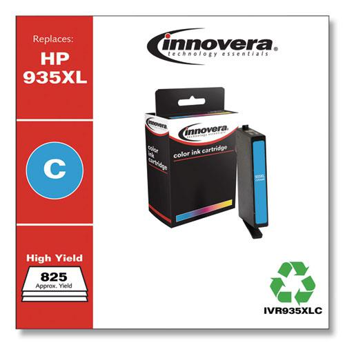 Remanufactured Cyan Ink, Replacement for HP 935 (C2P20AN), 400 Page-Yield. Picture 2