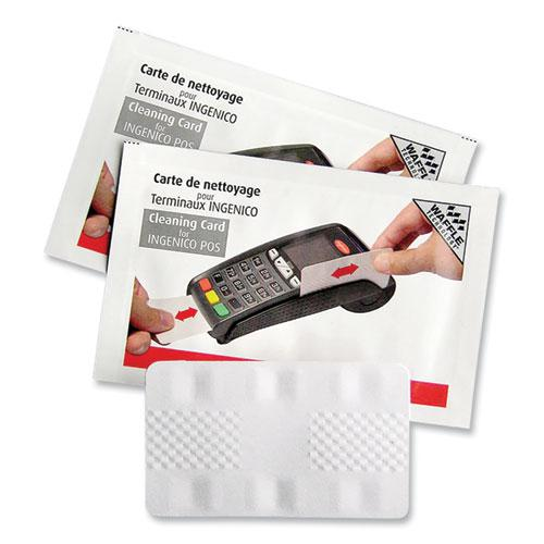 """Magnetic Card Reader Cleaning Cards, 2.1"""" x 3.35"""", 50/Carton. Picture 1"""