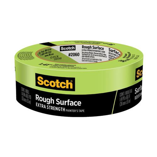 """Rough Surface Extra Strength Painter's Tape, 3"""" Core, 1.41"""" x 60.1 yds, Green. Picture 1"""