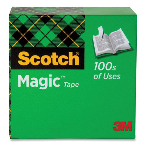 """Magic Tape Refill, 1"""" Core, 0.5"""" x 36 yds, Clear. Picture 1"""