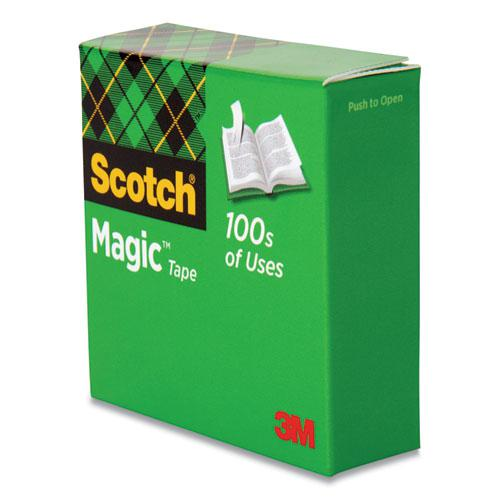"""Magic Tape Refill, 1"""" Core, 0.5"""" x 36 yds, Clear. Picture 5"""