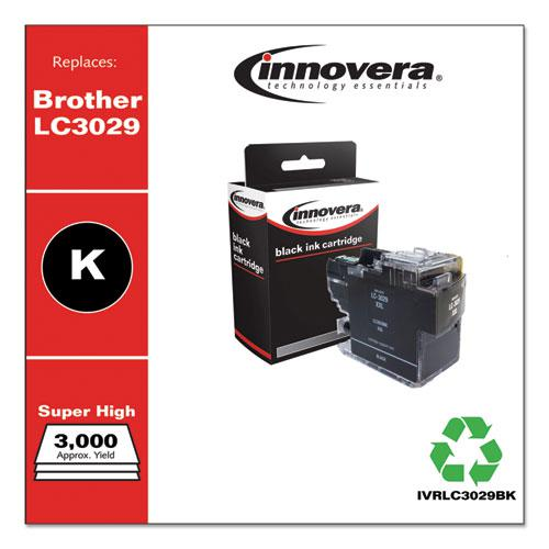 Compatible Black Super High-Yield Ink, Replacement for Brother LC3029BK, 3,000 Page-Yield. Picture 2