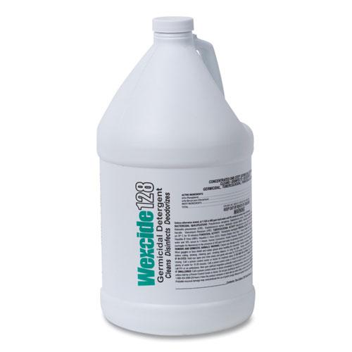 Wex-Cide Concentrated Disinfecting Cleaner, Nectar Scent, 128 oz Bottle. Picture 16