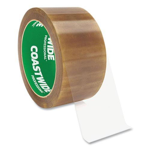 """Packing Tape, 3"""" Core, 2.3 mil, 1.88"""" x 54.6 yds, Clear, 6/Pack. Picture 1"""