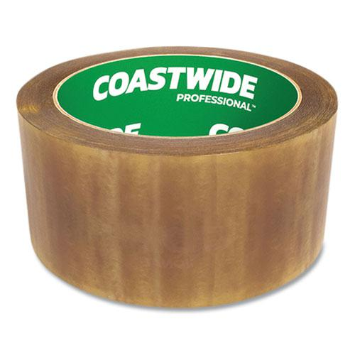 """Packing Tape, 3"""" Core, 2.3 mil, 1.88"""" x 54.6 yds, Clear, 6/Pack. Picture 2"""